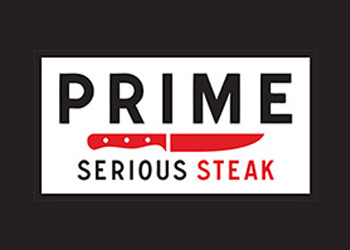 prime serious steak logo